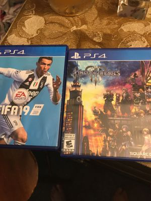 Ps4 games FIFA , Kingdom Hearts 3 for Sale in Cleveland, OH