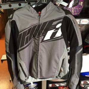 New icon black and grey motorcycle armor jacket $175 for Sale in Norwalk, CA