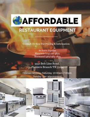Restaurant Equipment/ Equipo de Restaurante for Sale in Lubbock, TX