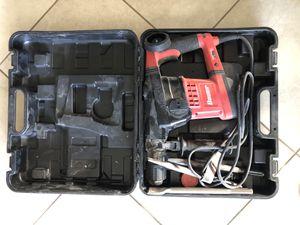Bauer 12.5 Amp SDS Max Type Pro Demolition Hammer Kit (1631E-B) for Sale in Oceanside, CA