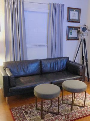 Modern Leather Couch for Sale in Tamarac, FL