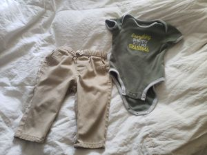 Baby 12 months outfit. Flawless. for Sale in Tacoma, WA