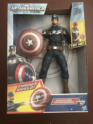 Captain America Action Figure 8 Inch Tall for Sale in San Bernardino, CA
