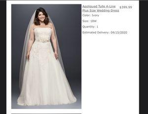 David bridal wedding dress for Sale in Lorain, OH