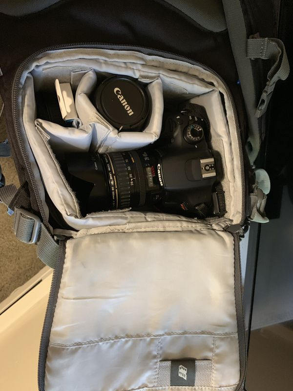Canon Rebel T5 with 2 Lenses and Accessories