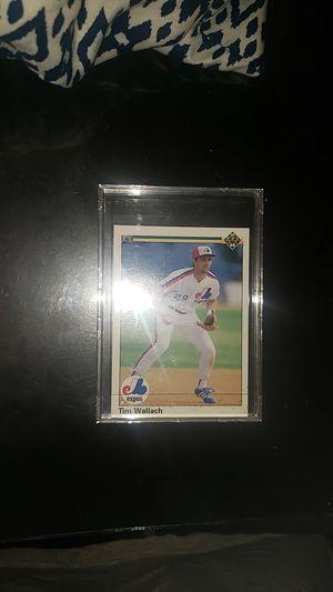 Tim Wallach baseball card for Sale in Houston, TX