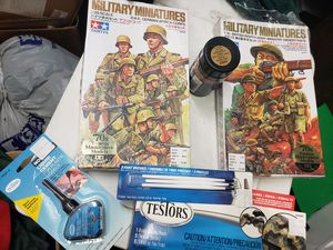 '70s Tamiya Masterpiece Models Painting Kit for Sale in Fontana, CA