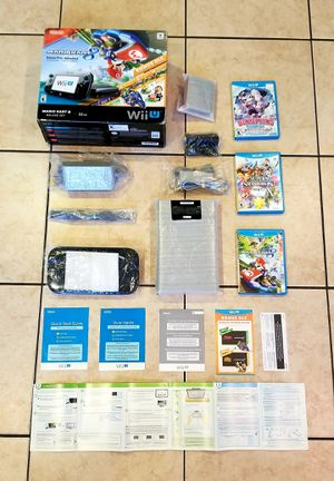 A Like NEW Nintendo Wii U Set in Box NEVER USED!!! for Sale in Ontario, CA