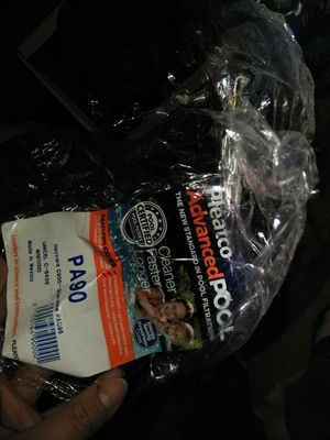 Pleatco pool filter new just pladtic cameoff for Sale in Apple Valley, CA