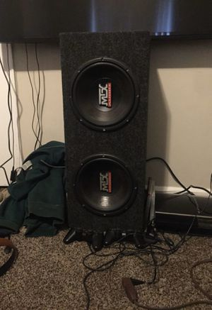 Dual 10inch MTX for Sale in Fairfax, VA
