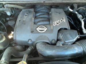 Nissan titan engine 5.6 2005 for Sale in Opa-locka, FL