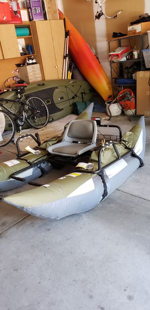 Classic Accessories 9 Foot Fishing Pontoon Boat for Sale in Lincoln, NE