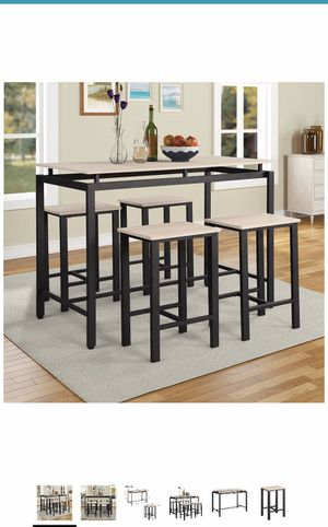 Dining table set- 5pcs for Sale in Herndon, VA