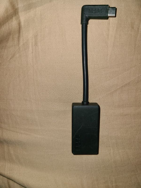 GoPro Pro 3.5mm Mic Adapter for (HERO8 Black/HERO7 Black/HERO6 Black/HERO5 Black) - Official GoPro Accessory