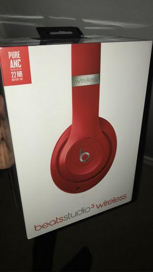Beats studio 3 wireless (Red) for Sale in Dearborn, MI