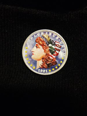 Colorized Silver Coin for Sale in Austin, TX