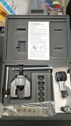 Rigid 345 Flaring tool kit NEW for Sale in Tampa, FL