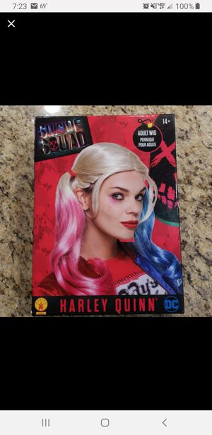Harley Quinn Suicide Squad Halloween Wig for Sale in Mt. Juliet, TN