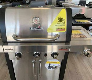 New Char-Broil Stainless Steel BBQ Grill A7BX for Sale in Georgetown, TX