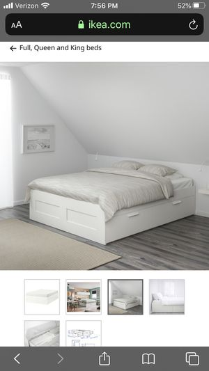 Bed Frame w Storage for Sale in Hermosa Beach, CA