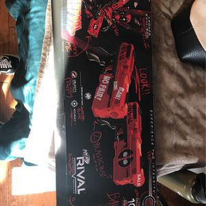 Nerf Rival Deadpool Collectors Edition Nerf Gun for Sale in Downey, CA