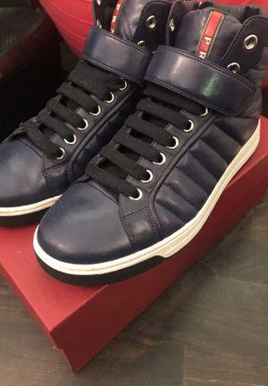 Prada Blue Napa Leather for Sale in Miami, FL