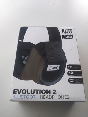 Altec Lansing Evolution 2 Bluetooth headphones $40 , more items available in my list for Sale in Houston, TX