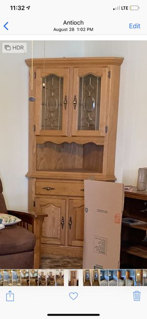 Custom made oak kitchen cabinets for Sale in Antioch, CA