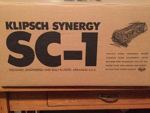 Klipsch Center Channel Speaker for Sale in Vancouver, WA