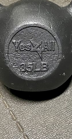Yes For All- 35 Lb Steel Flawless Kettle Bell for Sale in El Cajon,  CA