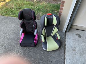 2 booster seats for Sale in Lake Stevens, WA