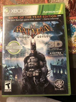 5 XBOX 360 GAMES for Sale in San Diego, CA