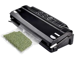 Automatic Food Packing Machine with Starter Kit and Vacuum Sealers Bags, Small Black for Sale in Washington, DC
