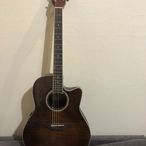 Applause Ovation AB24IIP-VF Election Full Size Acoustic Guitar , Sounds great, Plays amazing Used twice for Sale in Newark, CA