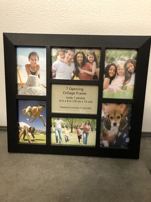 Nice frame hold 7 photos for Sale in Laguna Niguel, CA