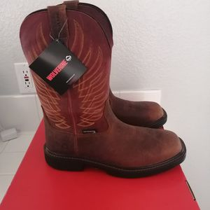 Brand New Wolverine Work Boots For Men. Size 8, 9 And 9.5. Composite Toe. Waterproof for Sale in Riverside, CA