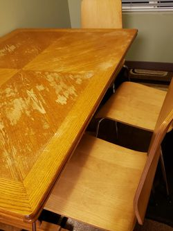 Dinning Table w/3 chairs for Sale in Everett,  WA