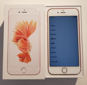 Iphone 6s Rose 16gb - unlocked from factory for Sale in Miami, FL
