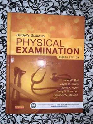 Seidel's Guide to Physical Examination (Mosby's Guide to Physical Examination) for Sale in Hialeah, FL