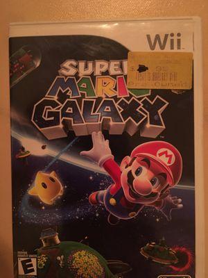 Nintendo Wii super Mario galaxy for Sale in Visalia, CA