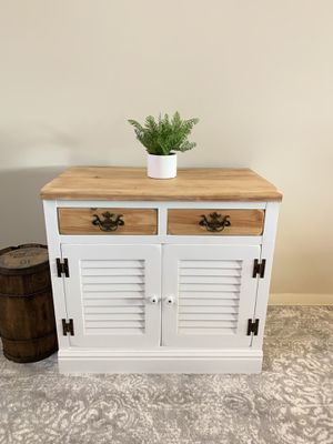Entryway table side table end table bar kitchen cabinet accent piece for Sale in Boca Raton, FL