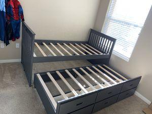 Twin/twin Bed w/ 3 storage box. for Sale in San Diego, CA