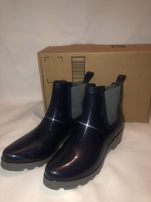Woman's Rain Boots Navy Blue for Sale in North Las Vegas, NV