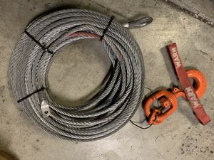 Winch cable for Sale in Sumner, WA