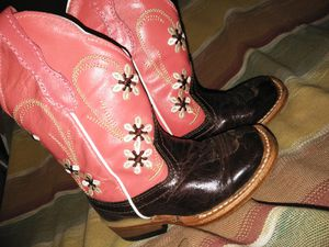 Toddler girl, Western boots. for Sale in Plant City, FL