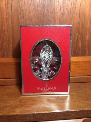 Fleur de Lis - Waterford Crystal Ornament 2013 for Sale in Orlando, FL