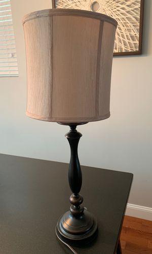 Oil rubbed bronze lamp for Sale in Philadelphia, PA