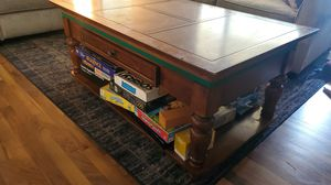 Coffee, game, puzzle table for Sale in Puyallup, WA