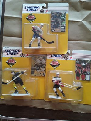 6 Different Hockey Starting Lineups. 94,95. for Sale in Philadelphia, PA
