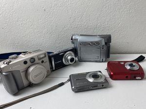 Lot of 5 cámaras 📸 for Sale in Pittsburg, CA